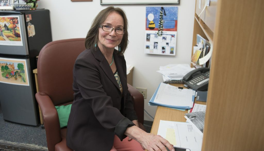 Mimi Steart, Senate Majority Whip, at the State Capital, 2018