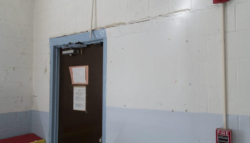 Interior of Hernandez Elementary School, Hernandez, NM