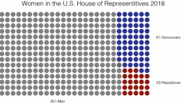 Women in US House of Reps