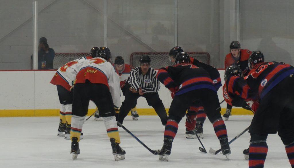 Ice Wolves v Odessa Jackalopes Faceoff
